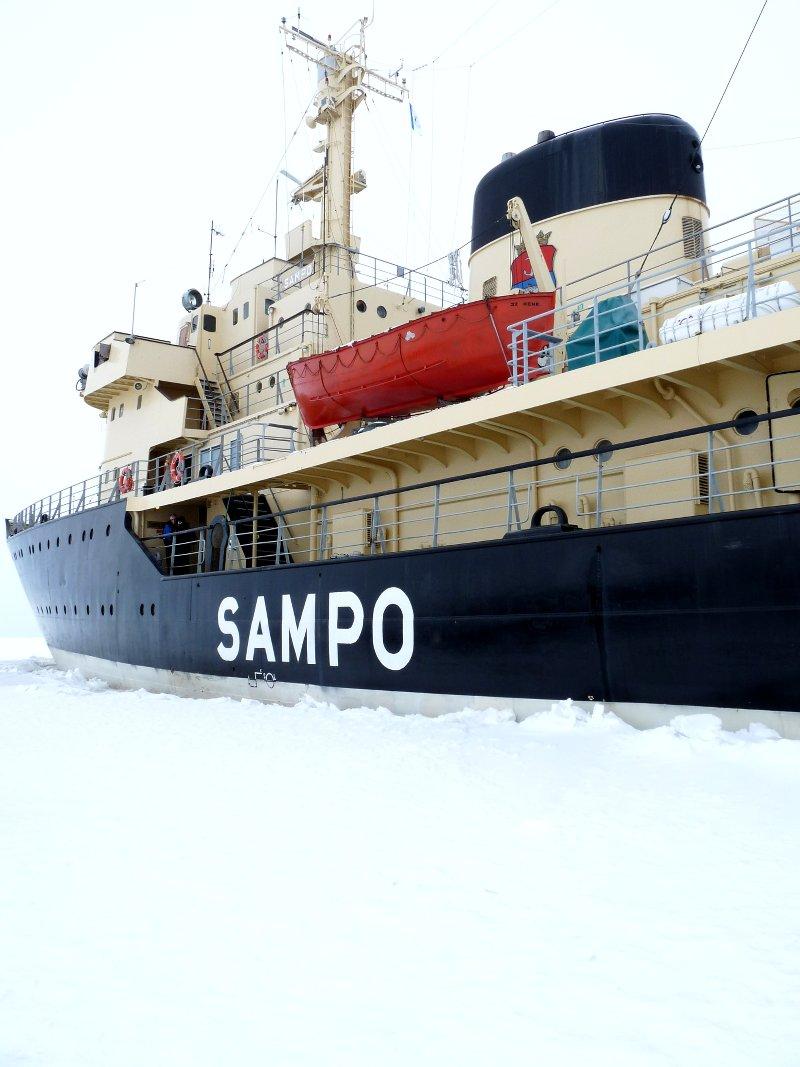 Sampo-Eismeer-Finnland