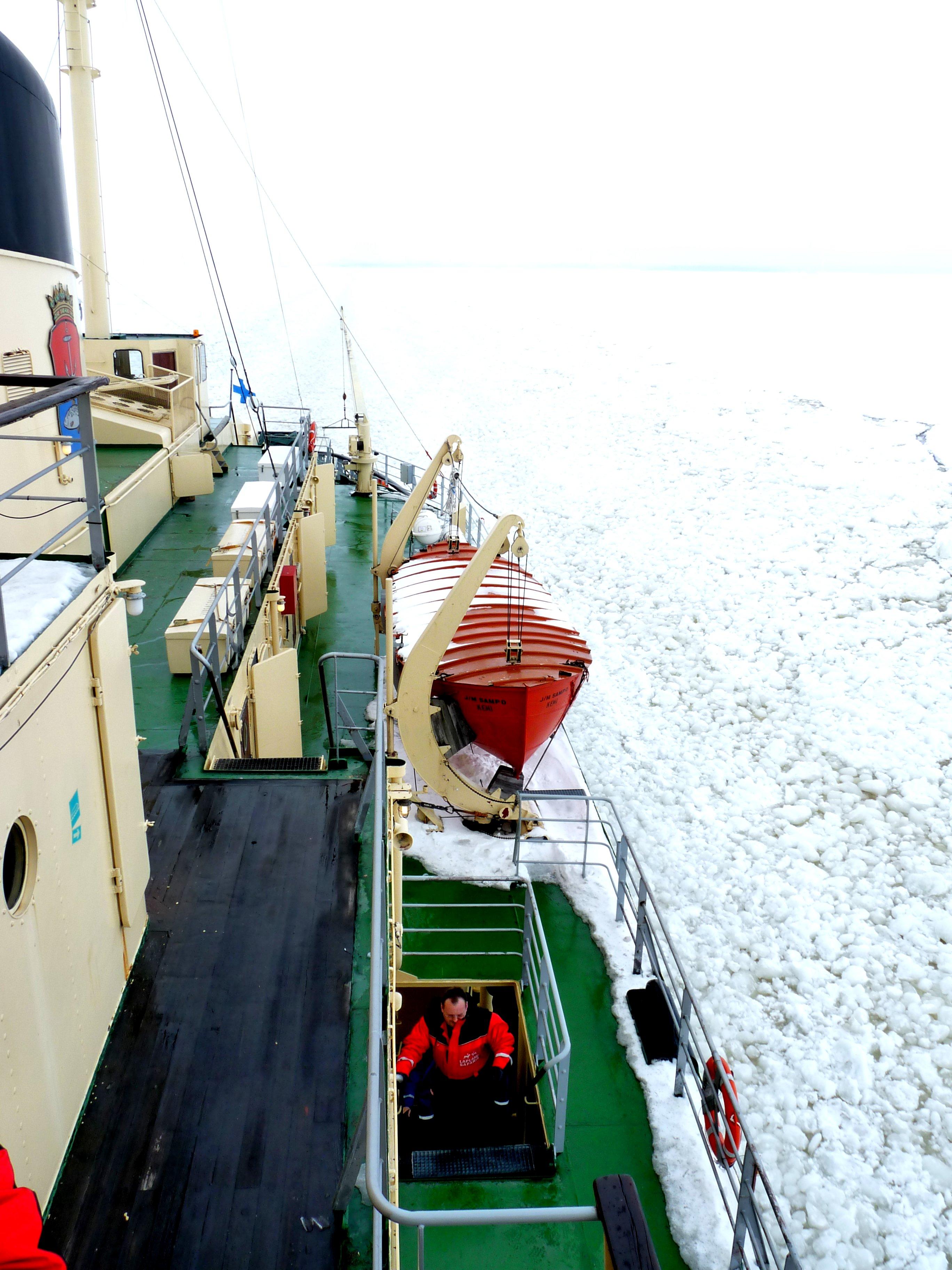 Sampo-Finnland-Eisbrecher-Eismeer