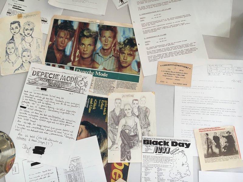 Passion Ausstellung Fankult Depeche Mode