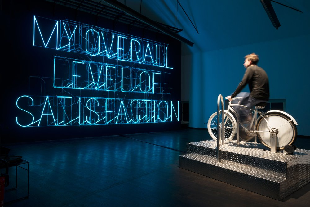 STEFAN SAGMEISTER - Actually Doing the Things I Set Out to Do Increases My Overall Level of Satisfaction © MAK/Aslan Kudrnofsky