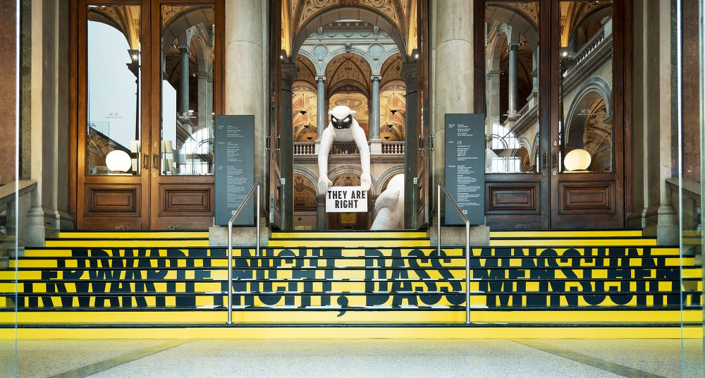 STEFAN SAGMEISTER: The Happy Show, Everybody Always Thinks They Are Right © MAK/Aslan Kudrnofsky
