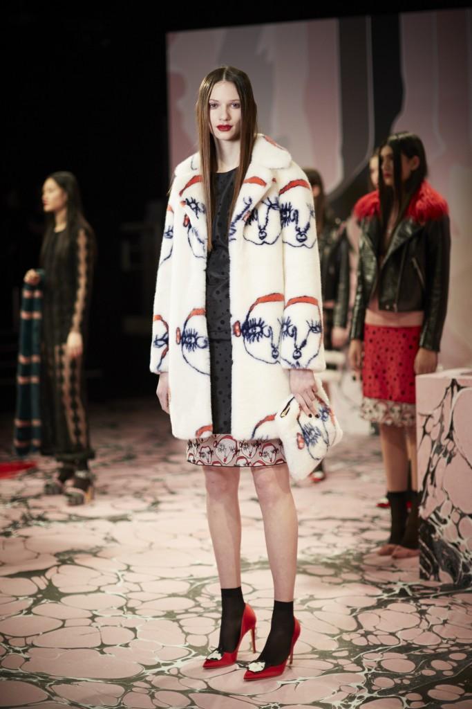 London Fashion Week AW16 / BRITISH FASHION COUNCIL / BFC / Shrimps AW16