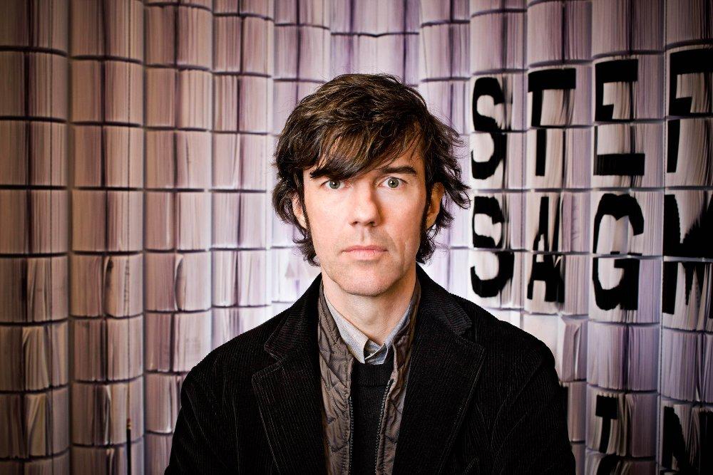 Stefan Sagmeister, Porträt © Sagmeister & Walsh/Foto: John Madere