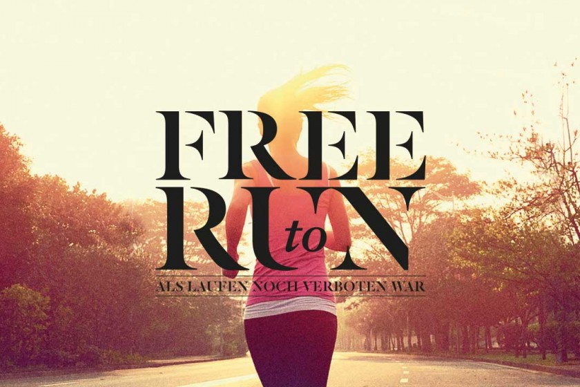 Motivation zum Laufen Film Free to run