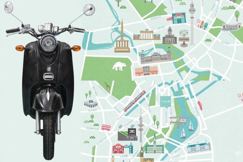 Minimoto_Motorroller