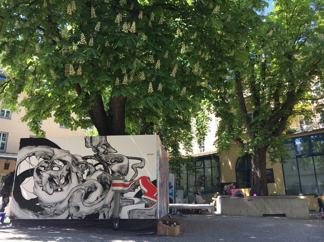 Stroke-München-Streetart