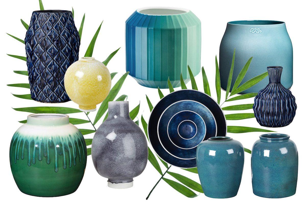 Keramik-Vasen