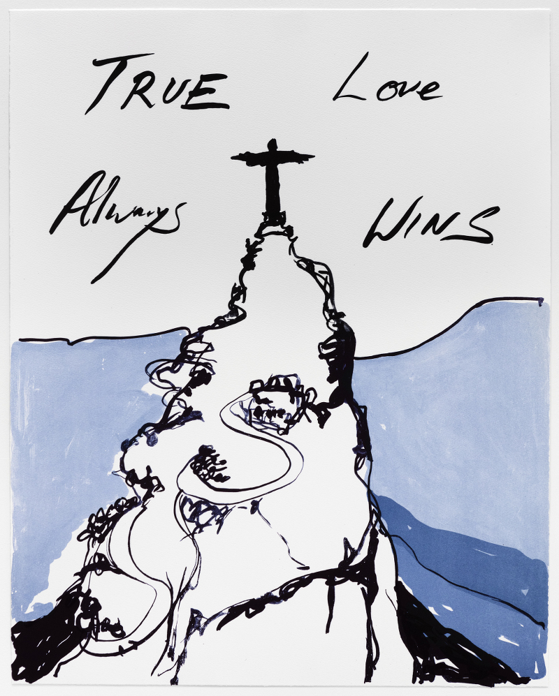 Tracey Emin_True Love Always Wins_2016