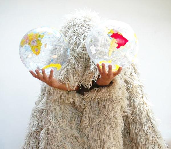 Tom Albrecht -Weltkugeln - Berlin Art Week 2016