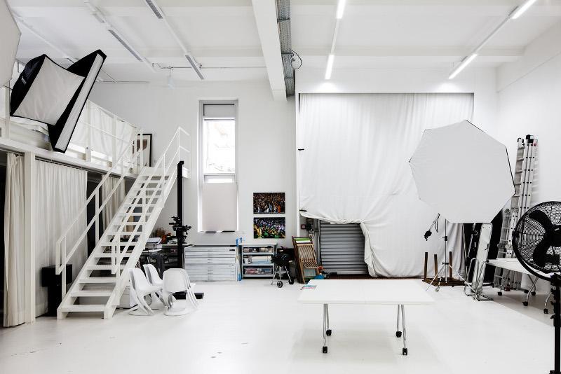 Atelieransicht, Foto: Riese (Auf AEG in Nürnberg)