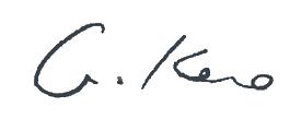 G. Kero Logo