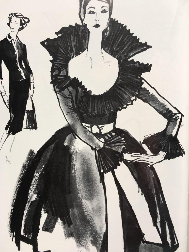 Modezeichnungen Vogue