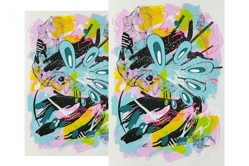 Künstlerin-Editition-Siebdruck-Julia-Banz