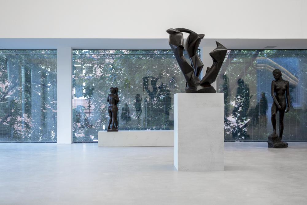 Jeff Wall Expressionismus Skulpturen Sammlung der neuen Kunsthalle Mannheim Eröffnung Museum Ausstellungen