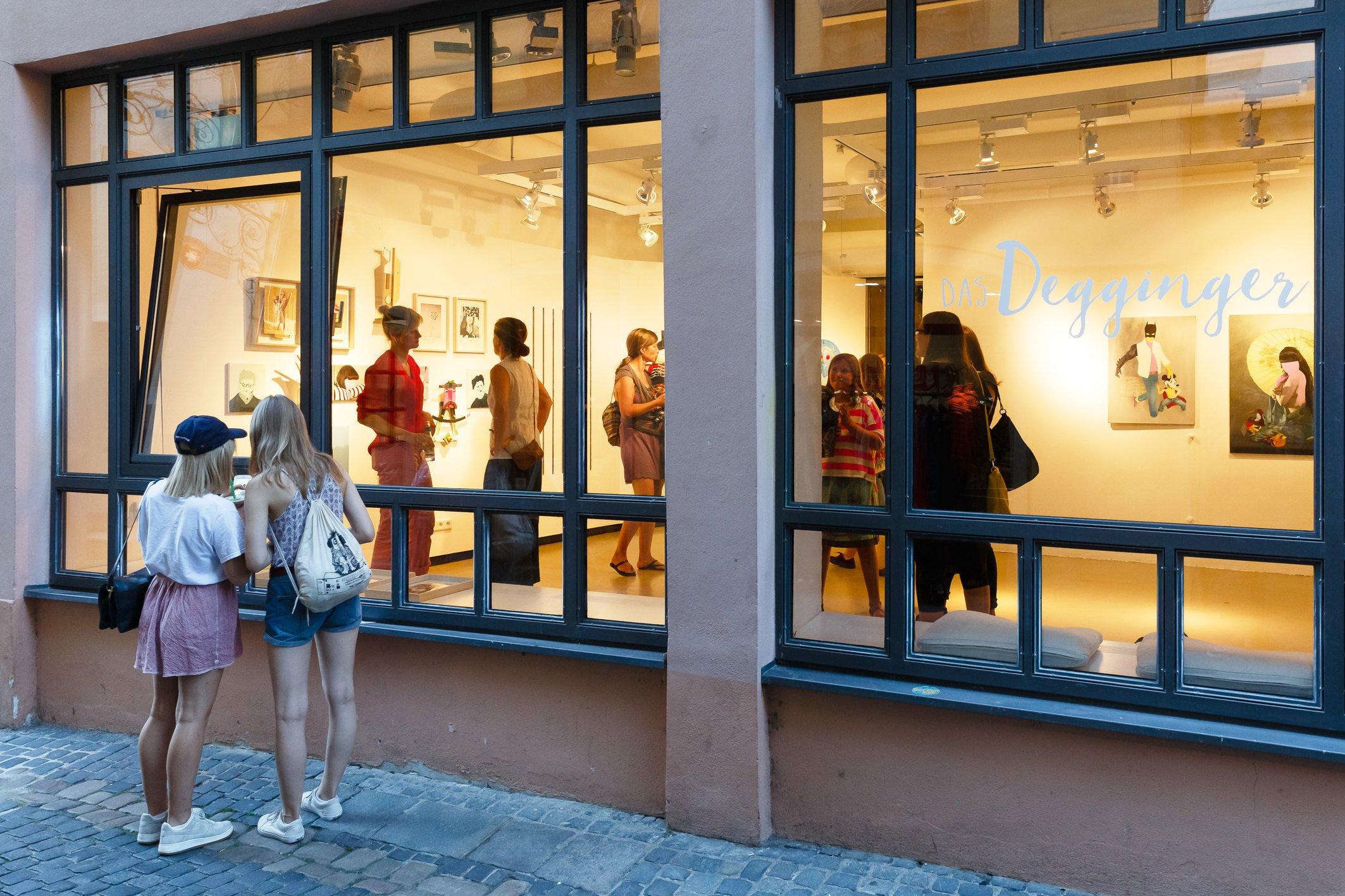 POPUP Galerie Regensburger Regensburger Galerienabend Künstler Regensburg