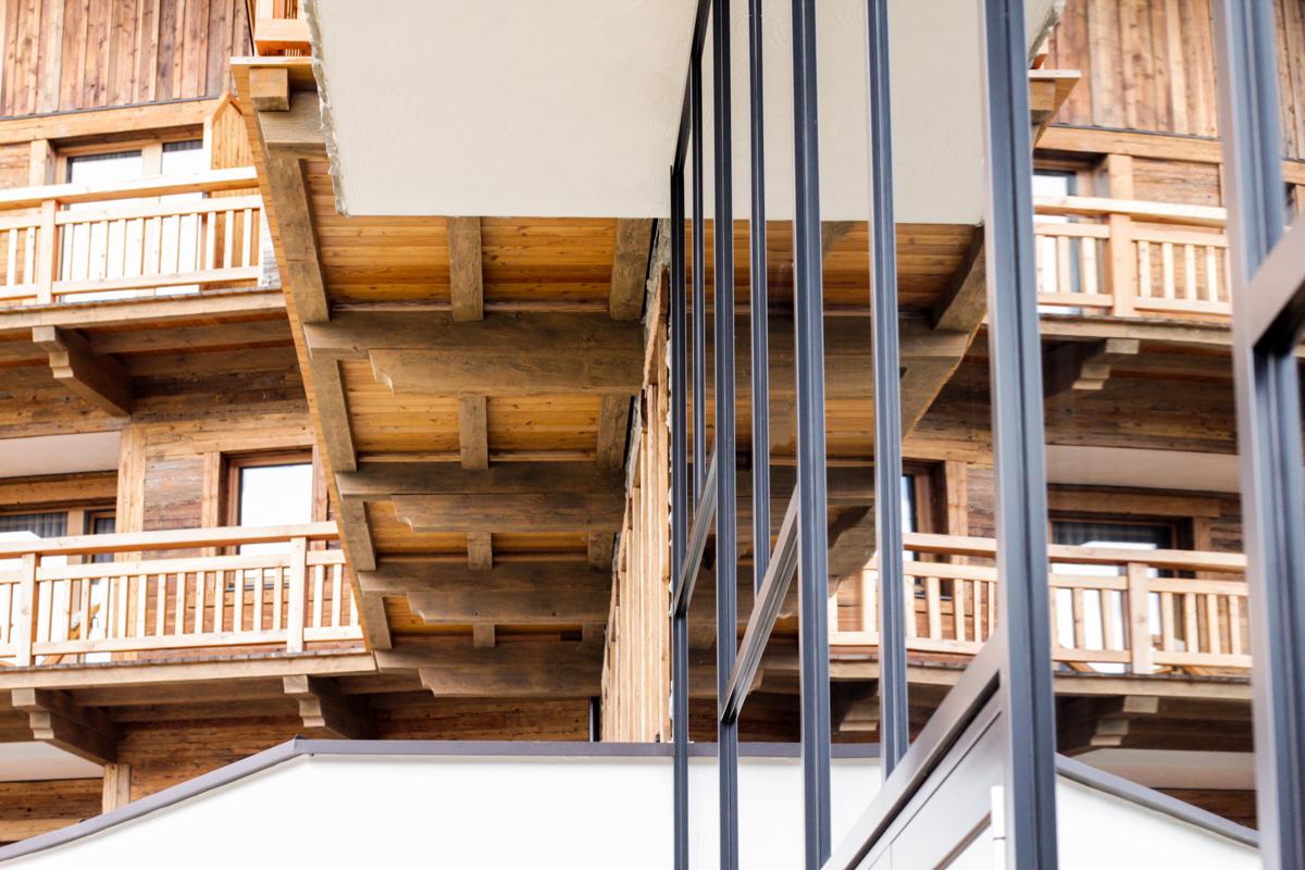 Architektur in Scheffau Tirol Österreich