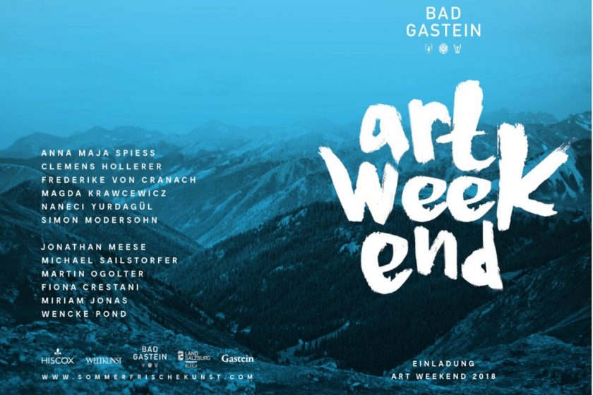 Art week end Badgastein Künstler Jonathan Meese